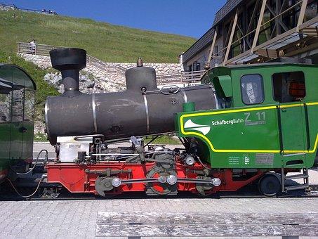 Schafberg Railway, Mountain Station, Sheep Mountain