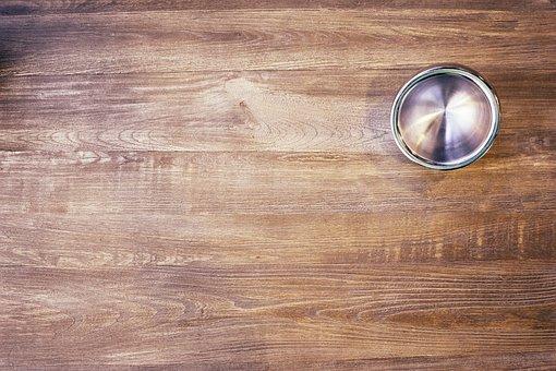 Table, Wood, Cup, Mug, Metal, Pattern, Background