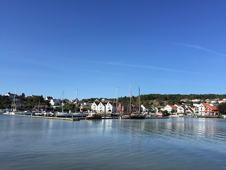 Lillesand, Norway, Scandinavia, Coast, Ocean, Summer