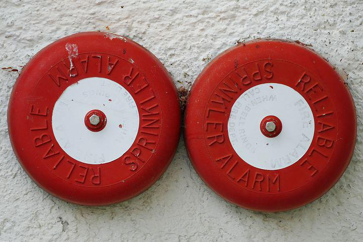 Fire Detector, Sprenkleranlage, Fire Alarm, Plant