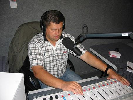 Radio Dj, Music For The Masses, Local Radio, Work