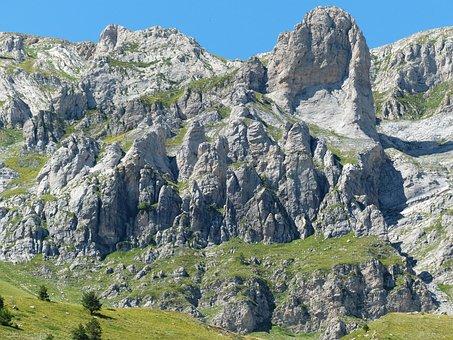 Le Piramidi, Cimonasso, Mountains, Summit, Rock