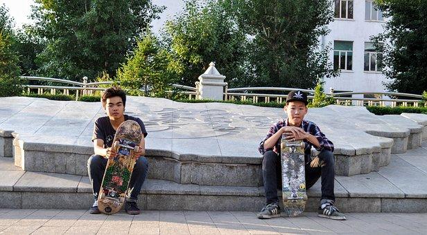 Skate Board, Skate, Skateboard, Skating, Urban, Sport