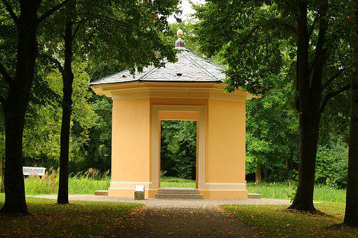 Teepavillion, Building, Pavillion, Ludwigslust-parchim
