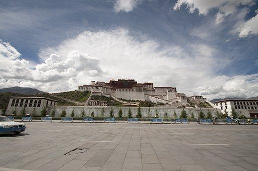 Palace, Tibet, Tibetan, Potala Palace, Lhasa, China