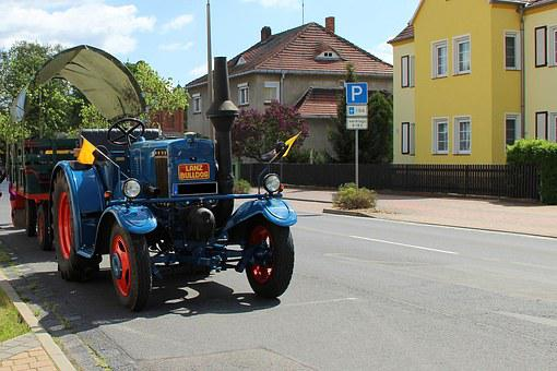 Lanz Bulldog, Bulldog, Tractor, Oldtimer, Agriculture