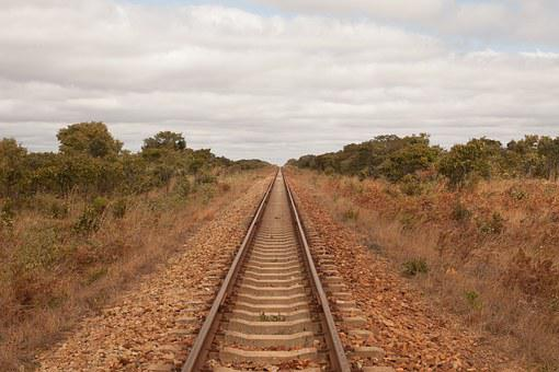 Train, Africa, Zimbabwe, Railway, Endless, Hwange