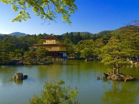 Japan, Temple Of The Golden Pavilion, Vision