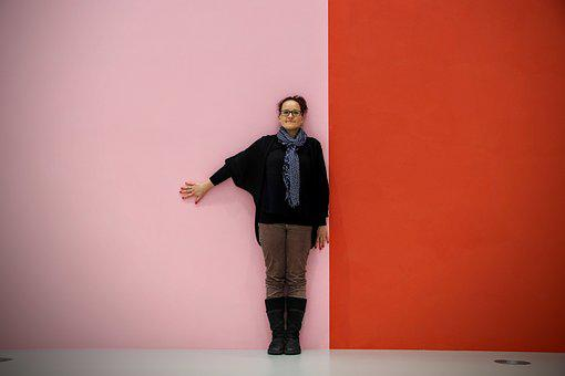 Wall, Wallpaper, Background, Red, Pink, Stand, Stripes