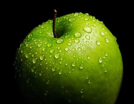 Fresh, Healthy, Green, Weight Loss, Apple