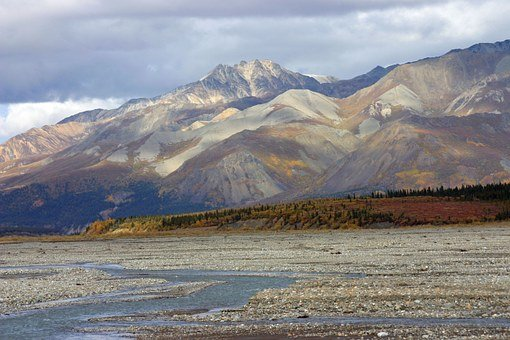 Alaska, Wilderness, Tundra, Mountains, Landscape, Snow