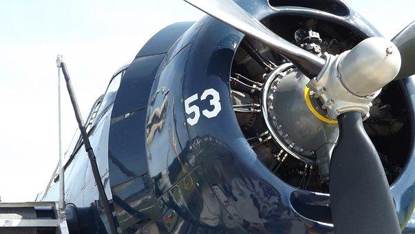 Airplane, Military, Propeller, Plane, Air, War, Sky