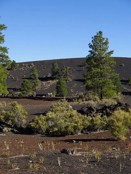 Wupatki, Sunset Crater, Arizona, Usa, Volcano