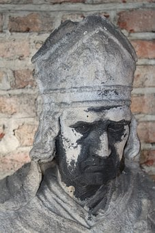 Bischofsmütze, Bishop, Holy, Pastor, Priest, Statue