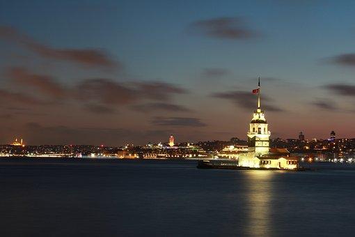 Marine, Blue, Sky, Peace, Turkey, Istanbul, Love