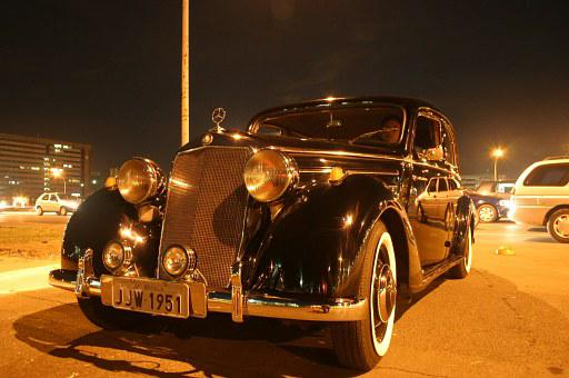 1951 Mercedes, Cathedral, Brasilia