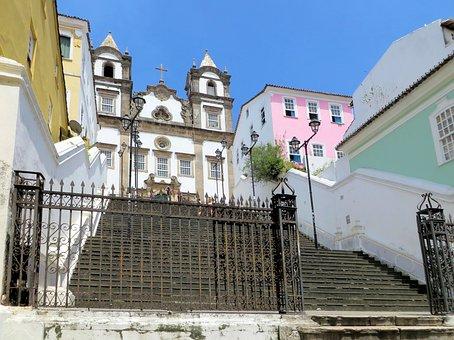 Brazilwood, Bahia, El Salvador Of Bahia, Church