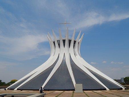 Cathedral Of Brasilia Metropolitan, Catholic, Brazil