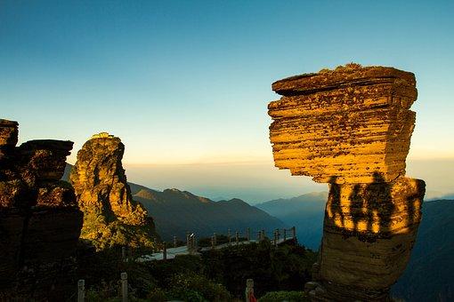 China, Guizhou, Fanjingshanensis, The Scenery