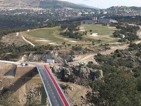 Angeles De San Rafael, Golf, Monument, Bridge, Segovia