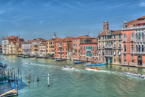 Venice, Italy, Architecture, Grand Canal, Boats, Europe