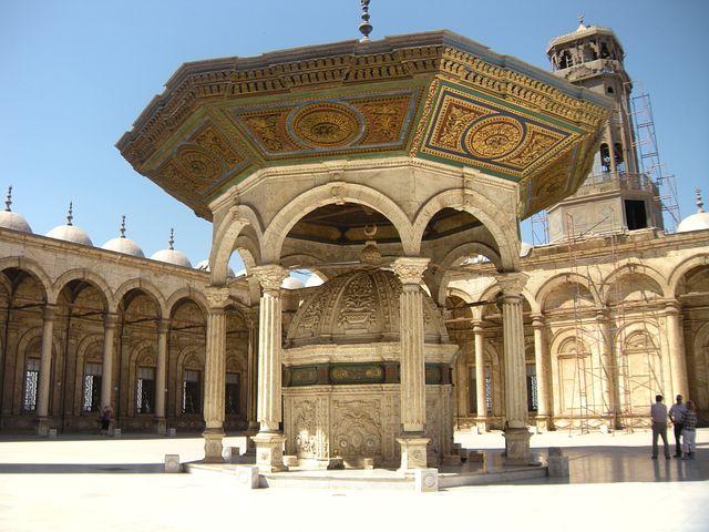 Mosque, Inside Courtyard, Grand Mosque