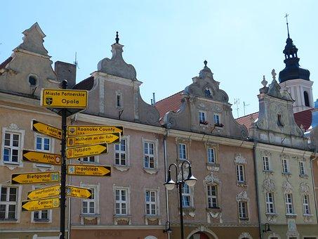 Opole, Poland, Silesia, Space, Historically, Market