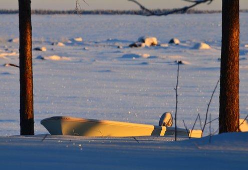 Ice, Snow, Cold, Winter, White, Snowy, Sweden