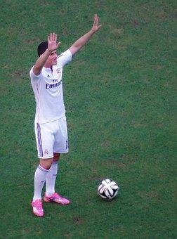 James Rodriguez, Footballer, Real Madrid, Balloon
