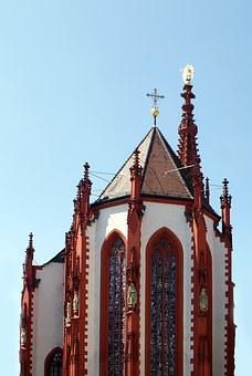 Church, Mary's Chapel, Würzburg, Historically, Section
