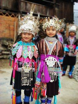 Child, China, Guizhou, Minority