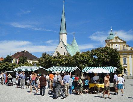 Altötting, Kapellplatz, Monastery Market