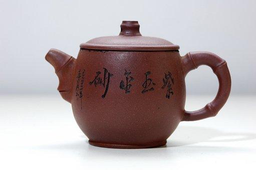 China, Nanjing, Home, Small Square Table, Teapot
