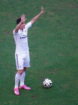James Rodriguez, Footballer, Real Madrid, Balloon