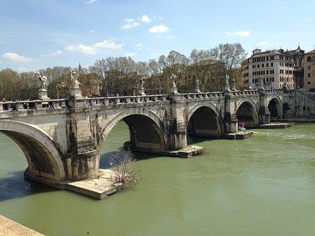Angels Bridge, Rome, Angel