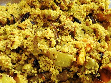 Couscous, Salad, Couscous Salad, Barbecue, Vegan