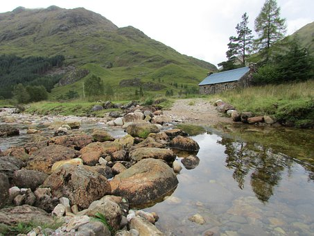Scotland, Bothies, Corriehully Bothy, Hut