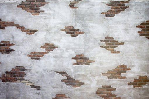 Stone, Stones, Brick Wall, Wall, Old Wall, Rhinestones
