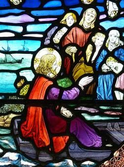 Church Window, Stained Glass, England, United Kingdom