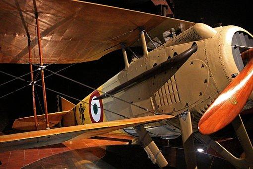 Plane, World War I, Francesco Baracca, Lugo, Romagna