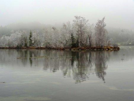 Austria, Landscape, Scenic, Winter, Snow, Ice, Lake