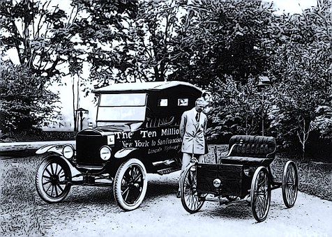 Automobiles, Henry Ford, Vintage, Old, Historical
