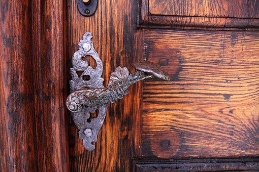 Access, Aged, Antique, Brass, Brown, Detail, Door