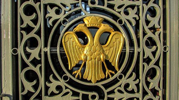 Two Headed Eagle, Byzantium, Emblem, Cyprus, Paralimni