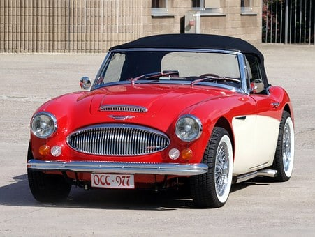Austin, Healey, Mk, Vintage, Car, Classic, Auto