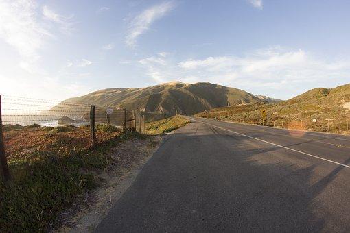 Road, Coast, Coastline, Pacific, Pacific Coast, Highway