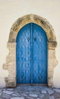 Cyprus, Kato Lefkara, Village, Architecture, Door
