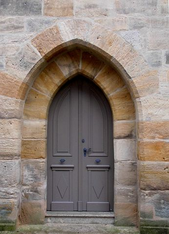 Goal, Church Door, Spitz Gate, Dom