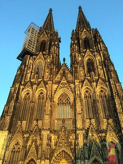 Cologne Cathedral, Dom, Church, Site, Scaffolding