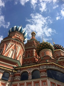 Russia, Moscow, St Basal, Dome, Kremlin, Culture